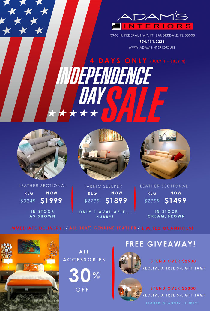 4th of July Sale Image